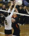 Prep volleyball - West 3, Senior 2