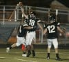 Thomas Donahue of West gets an interception