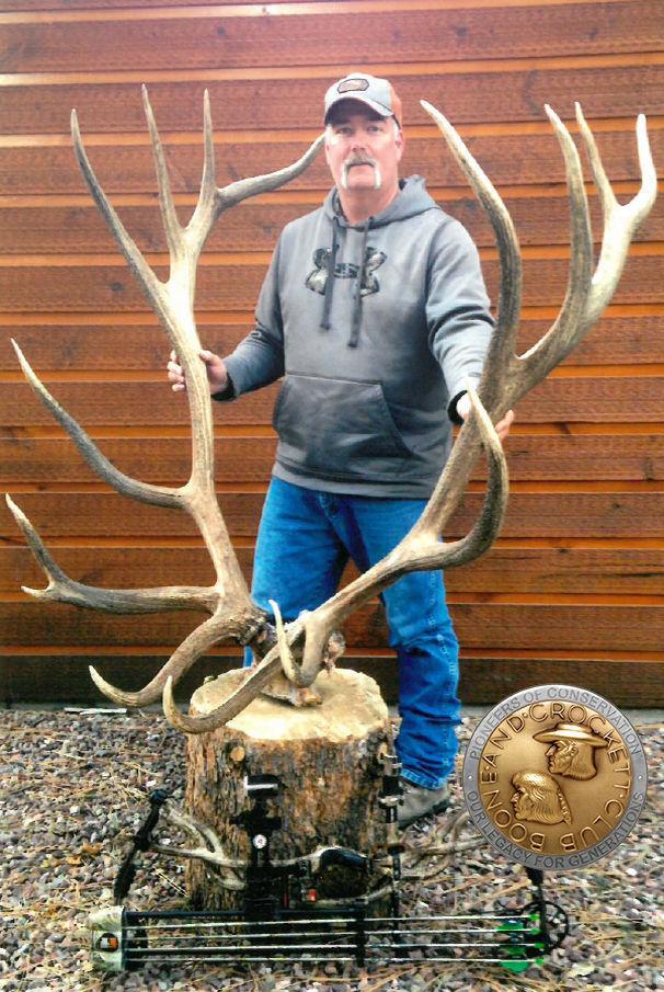 Bowhunter Bags Record Breaking Elk In Montana Montana