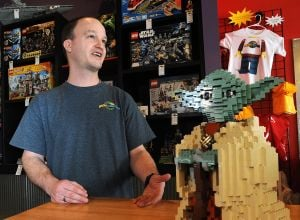 Lego enthusiast turns interest into new career path
