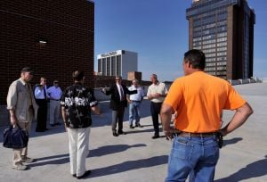 News photos: Council gets look at new parking garage