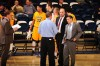 Wetzel, right, was an assistant coach at MSUB