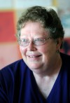 Bev Huffman coordinates a quilting group