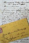 Earliest known surviving letter to have been mailed from Montana