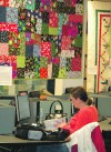 Quilts go up at MSU Billings library