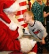 Chase Howell talks to Santa