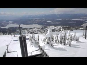 MoVI M5 and Cinestar 8 HL flight at Whitefish Mountain Resort