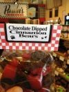 Chocolate-Dipped Cinnamon Bears