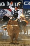 Brazilian rookie claims bull riding title