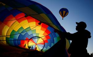 Colorful hot-air balloons fill the Billings skies this weekend