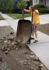 Rick Schmidt replaces dirt lost