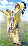 Postcards - Chief Whitecalf