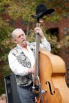 Bassist Aron Strange of Fiddlin' Ferch and Friends