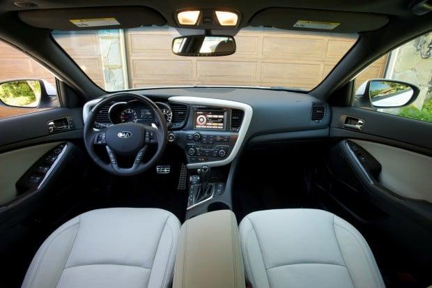 2017 Kia Optima Sxl Turbo >> Quick Drive: 2013 Kia Optima SXL handsome and classy, inside and out : Transportation