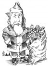 Santa for B&W page