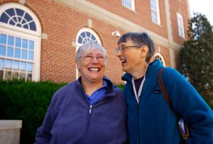 2 Wyoming women celebrate the end of their long wait for marital rights