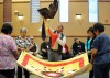 Northern Cheyenne elders thank St. John's with quilt