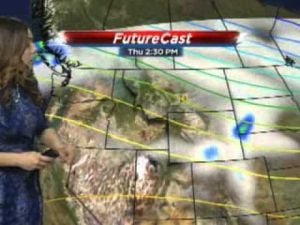 Weather outlook: Thunderstorms possible