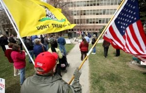 Ralliers say Tea Party still a force, despite criticism