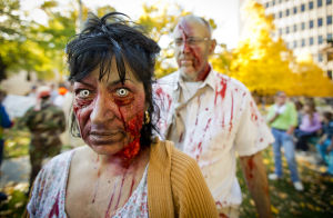 Zombie walk, haunted houses and trick-or-treating -- oh yeah