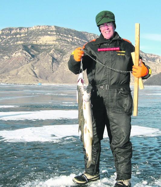 Bigger rainbows await ice anglers at buffalo bill for Wyoming game and fish jobs