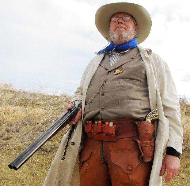 Cowboy action shooting...