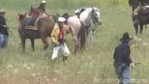 Custer's last stand reenacted near Hardin