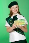 Sunny Satrom wears a Cadette uniform
