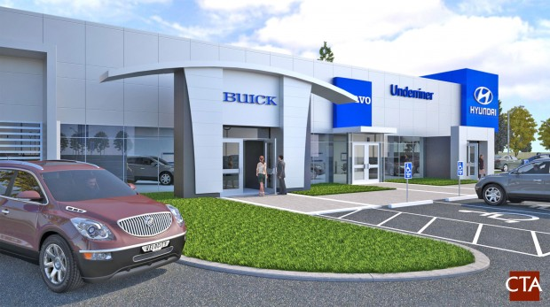 Underriner Motors Building Second Dealership Off Zoo Drive