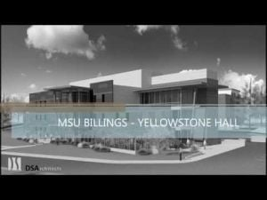 New MSU Billings sciences building