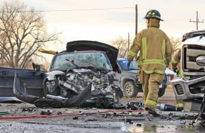 Victims in Frontage crash remain hospitalized