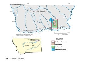 Study maps large, salty groundwater plume