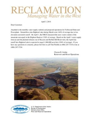 Bighorn water supply outlook
