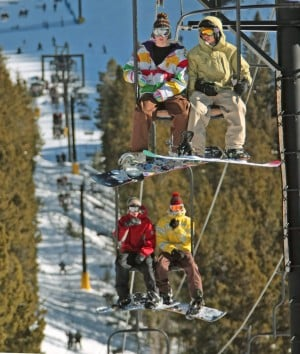 Chair falls off red lodge mountain lift 2 injured for Lodge at willow creek