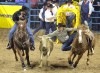 Shepperson shares steer wrestling win with Ledoux