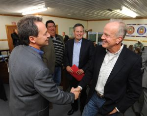 Crow leaders lobby Daines for coal tax credit