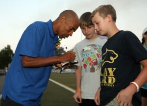 Meb Keflezighi at Big Sky State Games