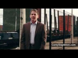 "Corey Stapleton ad ""Folks are upset"""