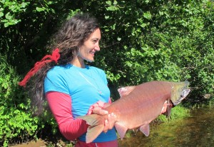 Anglers turning out for big salmon season