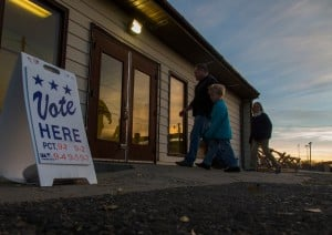 In Wyo., minor poll lines, 27% vote absentee