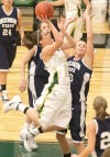 Poor shooting plagues Rocky women in loss to Blue Hawks