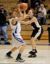 Skyview's Haley Copinga battles