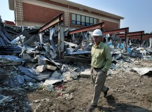 Demolition begins at McKinley
