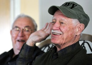 Bootcamp buddies' paths converge at retirement community after 62 years