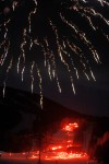 Fireworks light up Red Lodge Mountain