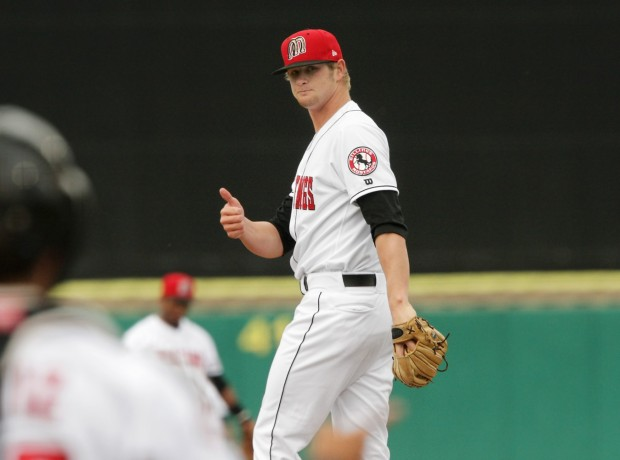 Ben Lively picture on the mound pitcher for the Philadelphia Phillies