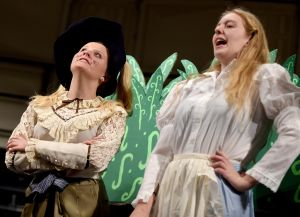 Senior High stages adaptation of 'Alice in Wonderland'