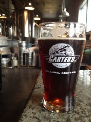 Billings brews: Carter's Roundhouse Red IPA
