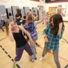Hip-hop class at Broadwater Elementary