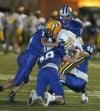The Skyview defense takes down CMR's quarterback